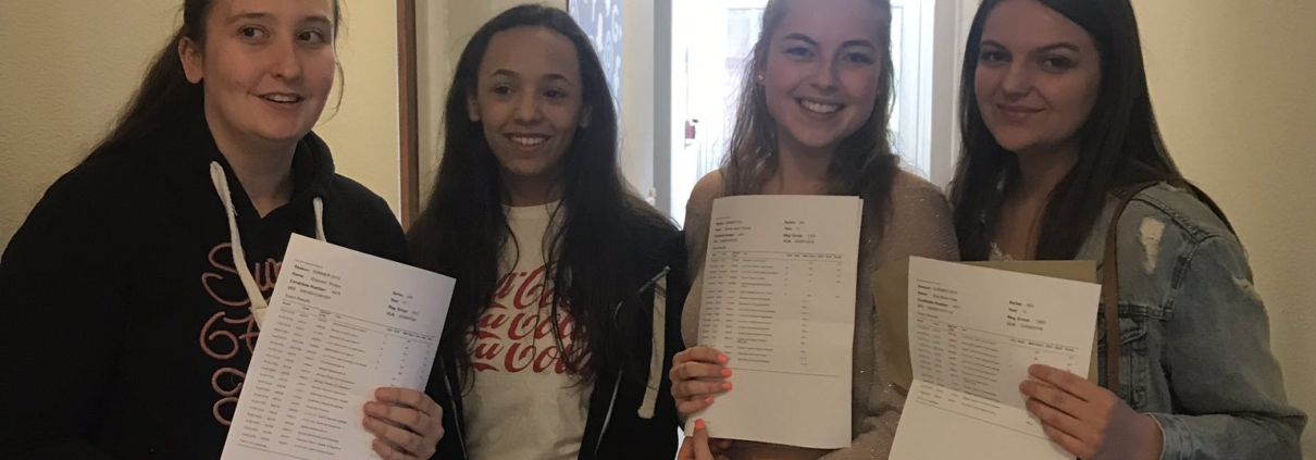 Penybont 6th Form College score above National Comparator